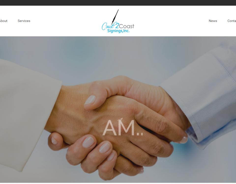 New Website Design Mockup