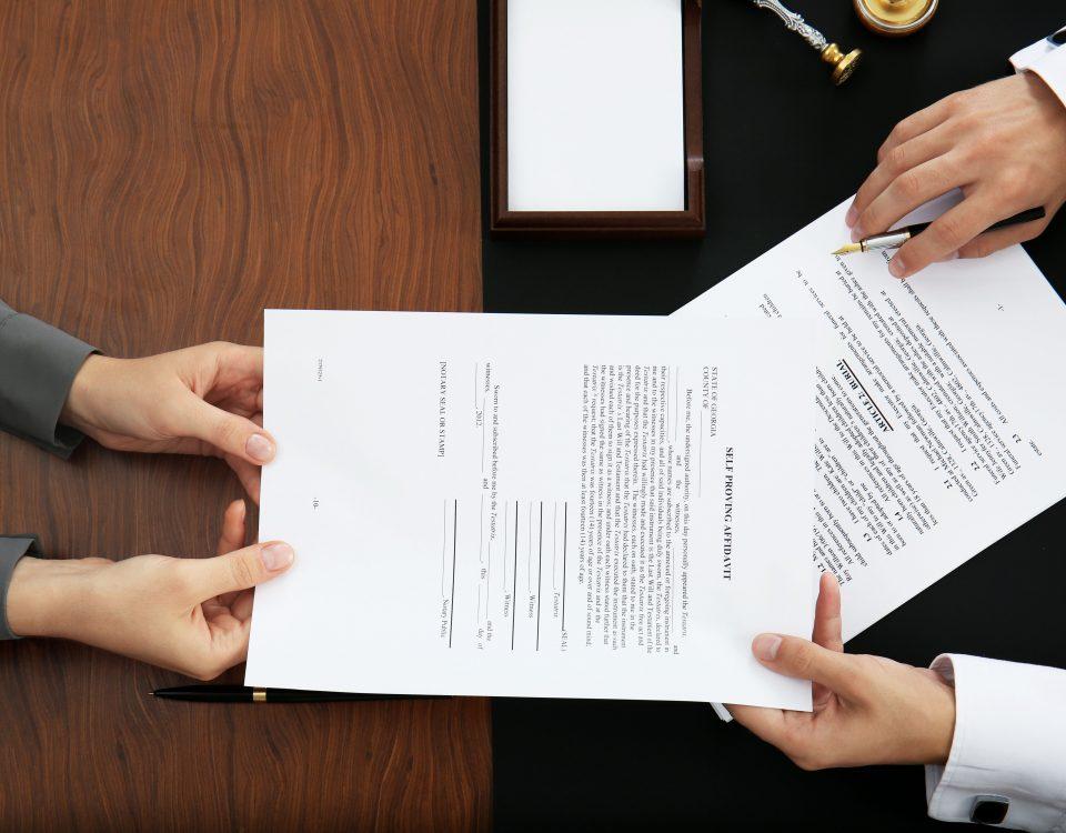 affidavits of support