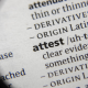 What does attest mean?