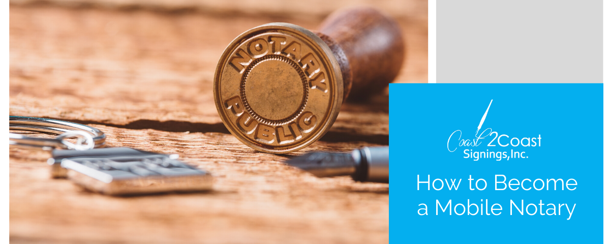 become a mobile notary